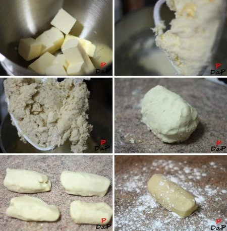 Elaboración de la masa para las pastas