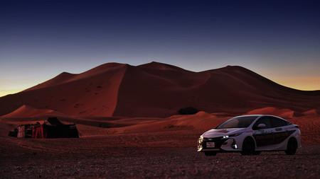Ethical Cruise Prius en el Sahara