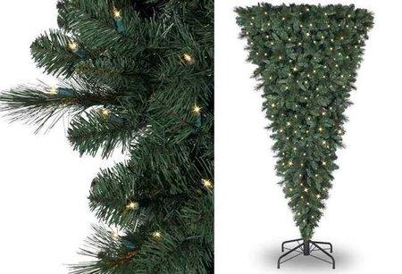 Un árbol de Navidad inverso