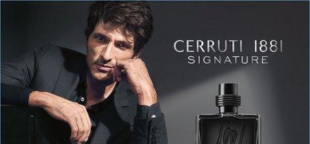 Andrés Velencoso protagoniza la campaña del perfume Cerruti 1881 Signature