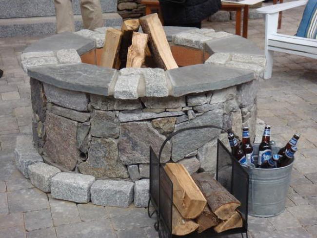 Cómo construir una chimenea de exterior, paso a paso