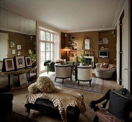 Otra vista del salón de Kate Moss
