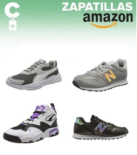 Chollos en tallas sueltas de zapatillas Puma y New Balance en Amazon por menos de 30 euros