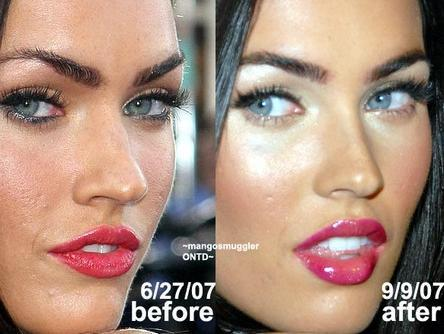 La transformación de Megan Fox