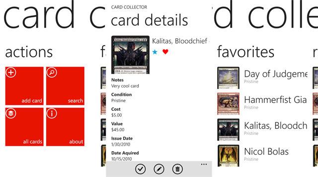 Card Collecotr