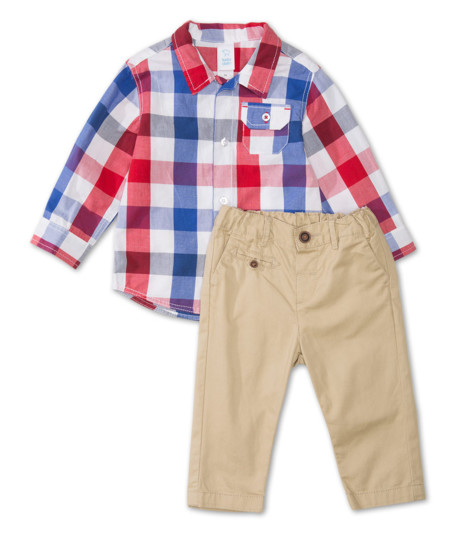Conjunto Bebe Camisa Y Pantalones