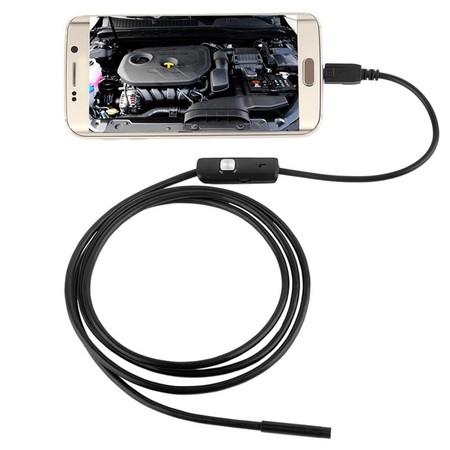 Oferta Flash: endoscopio para dispositivos Android, resistente al agua, por 4,24 euros y envío gratis