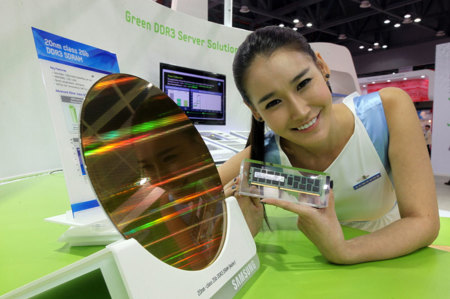 Samsung DDR3 NAND Die