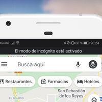 Cómo activar el modo de incógnito de Google Maps en tu móvil iOS o Android