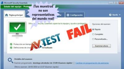 Microsoft se defiende tras no haber conseguido la certificación de AV-Test