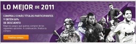 Juegos de Electronic Arts para PC al 50% de descuento