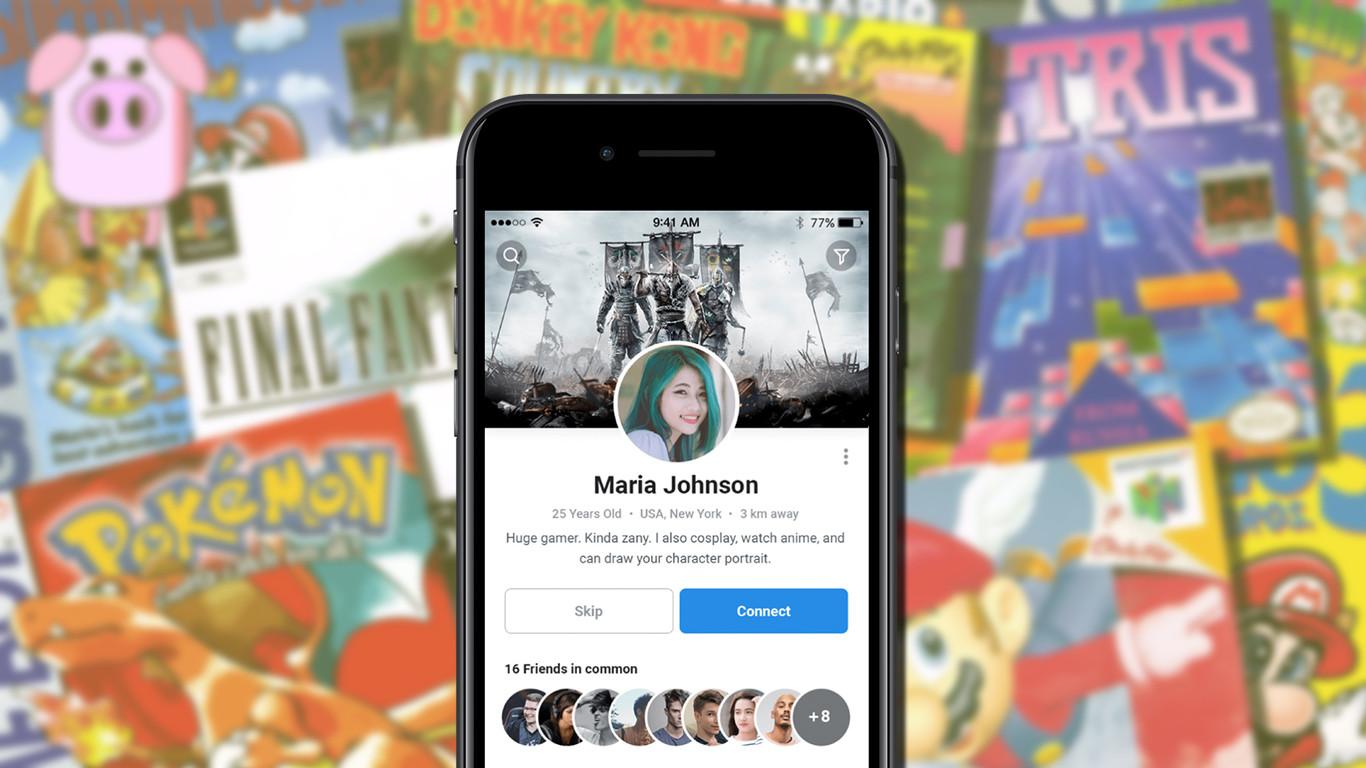 app para conocer gente gamer