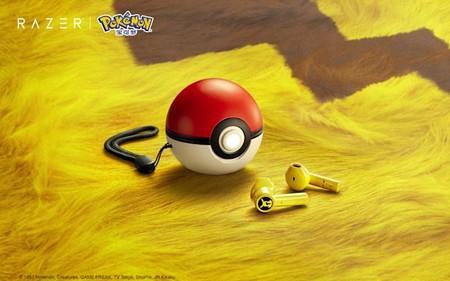 Razer tiene los audífonos inalámbricos definitivos para fans de Pokémon: son color amarillo Pikachu y su estuche es una Pokébola