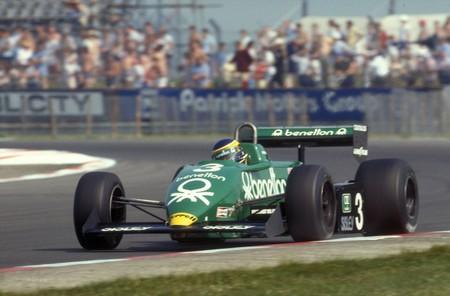 Alboreto Usa F1 1983