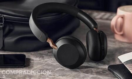 Estos auriculares inalámbricos Jabra Elite 45h cuestan muy poco y ofrecen sonido de calidad: Amazon te los deja en 69,99 euros