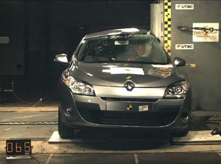 Renault Megane Coupe - EuroNCAP