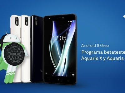 bq abre el programa para probar la beta de Android 8.0 Oreo en los Aquaris X y X Pro