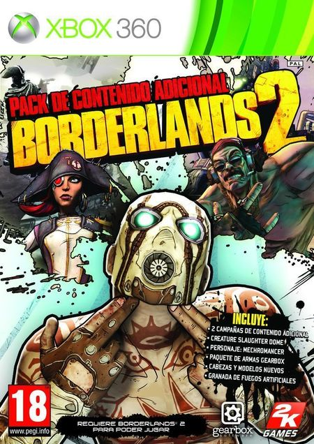 Borderlands 2 - Pack de Contenido Adicional