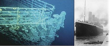 Nueva York: una muestra exhibe los objetos rescatados del Titanic