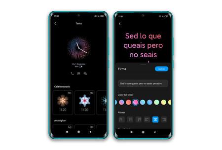 Xiaomi Mi Note 10 Ajustes Pantalla Ambiente