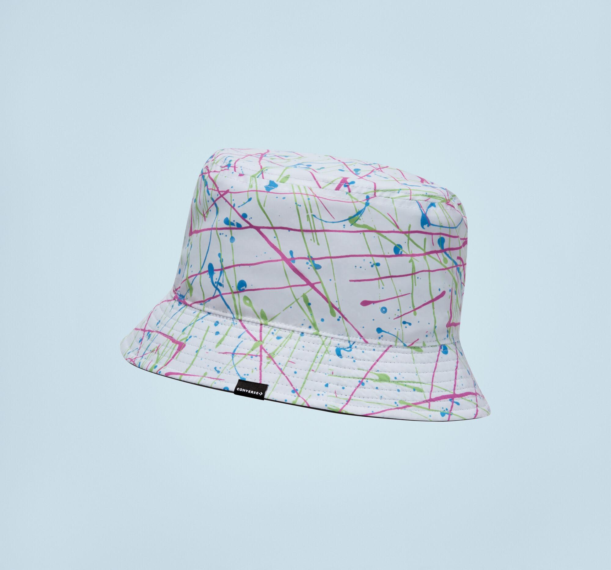 Sombrero tipo pescador de cebra reversible