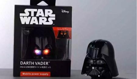 Batería con forma de Darth Vader
