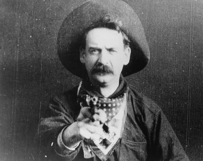 Great Train Robbery The 1903 001 Cowboy Shoot 00n 3ol