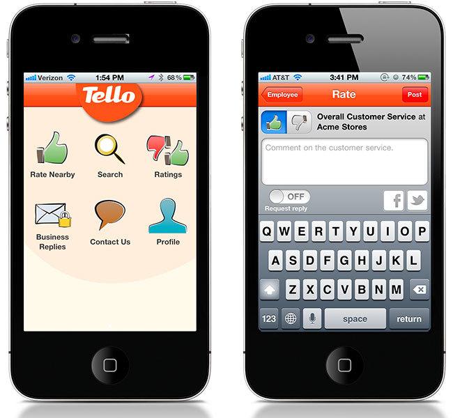 Tello app