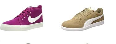 Chollos en tallas sueltas de zapatillas Nike, Puma o New Balance por menos de 35 euros en Amazon