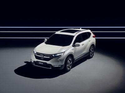 El Honda CR-V Hybrid Prototype anticipa una variante híbrida para el próximo año