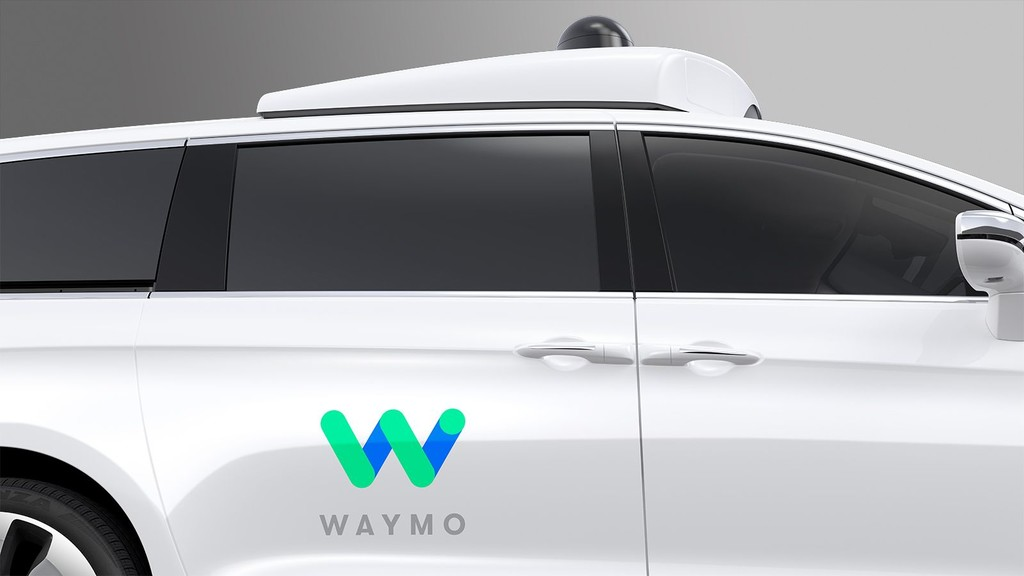 Waymo Fca Fully Self Driving Chrysler(automóvil) Pacifica Hybrid 5