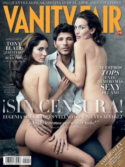 La polémica portada de Vanity Fair del mes mayo