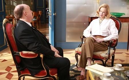 Nicole Kidman con Alfred Hitchcock
