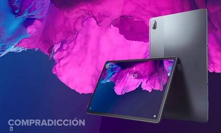 Una tableta potente como la Lenovo Tab P11 Pro tiene ahora le mejor precio en Amazon: estrénala por 399 euros