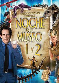 noche en el museo 1 y 2 dvd