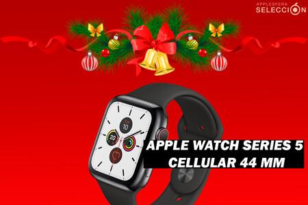 Tremendo descuento en el Apple Watch Series 5 Cellular 44 mm de acero inoxidable en Amazon: 529 euros, su precio mínimo histórico