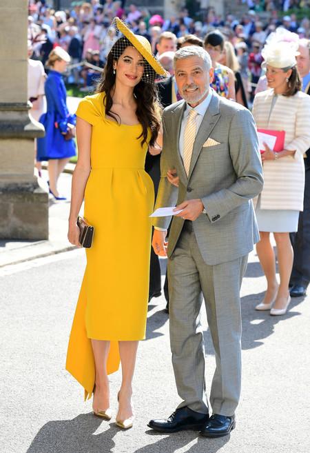 Amal Clooney Y George Cloone Boda Principe Harry