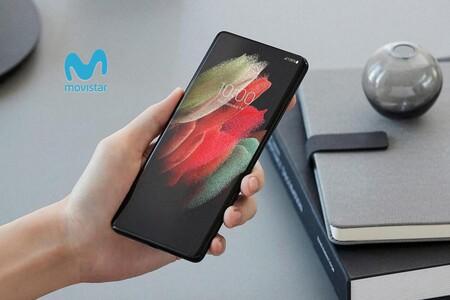 Precios Samsung Galaxy S21, S21+ y S21 Ultra con tarifas Movistar