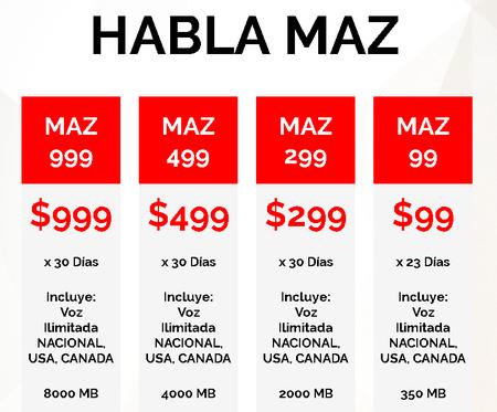 Maz Tiempo Omv Mexico Paquetes