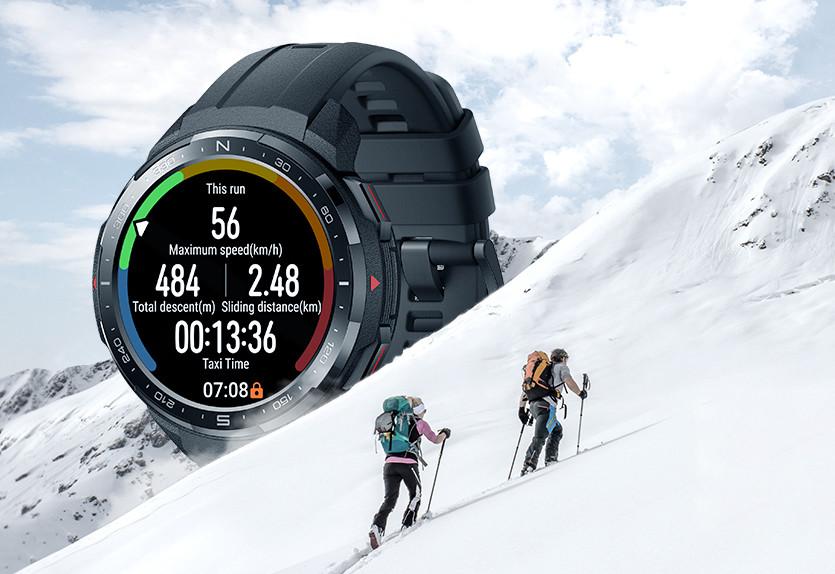 Honor Watch GS Pro: el primer smartwatch para deportes al aire libre de Honor llega con GPS y diseño rugerizado