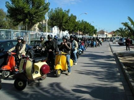 Segundo Scooter Rally de Alicante