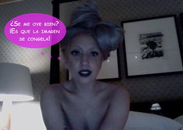 Lady Gaga tiene claro cómo llevar una relación a distancia: ¡Skype que te crió!