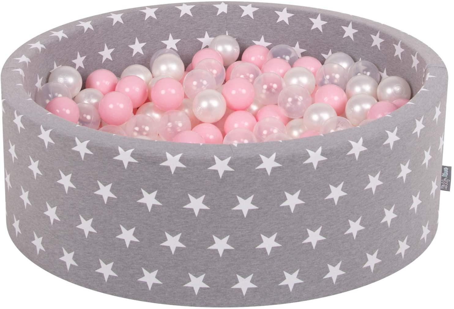 Piscina de bolas de estrellas para bebés