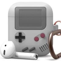 La nueva funda de Elago convierte el estuche de los AirPods en una GameBoy