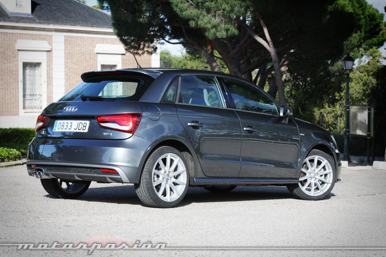Foto de Audi A1 SportBack 1.4 TFSI CoD (prueba) (14/19)