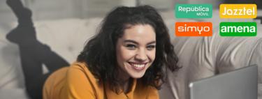 Los mejores combinados baratos de fibra y móvil de Orange disponibles en Amena, Jazztel, Simyo y República Móvil