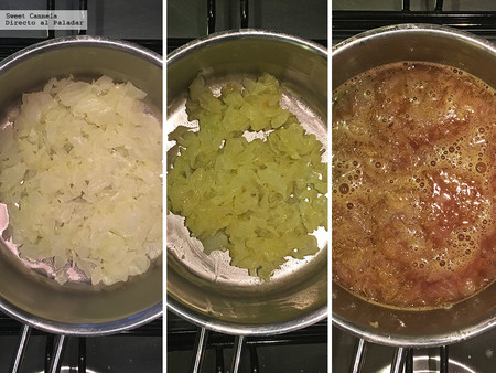Sopa Cebolla con vino tinto 2
