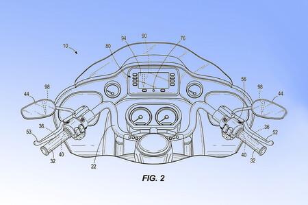 Harley Davidson Radar Patente Frenada Emergencia 1