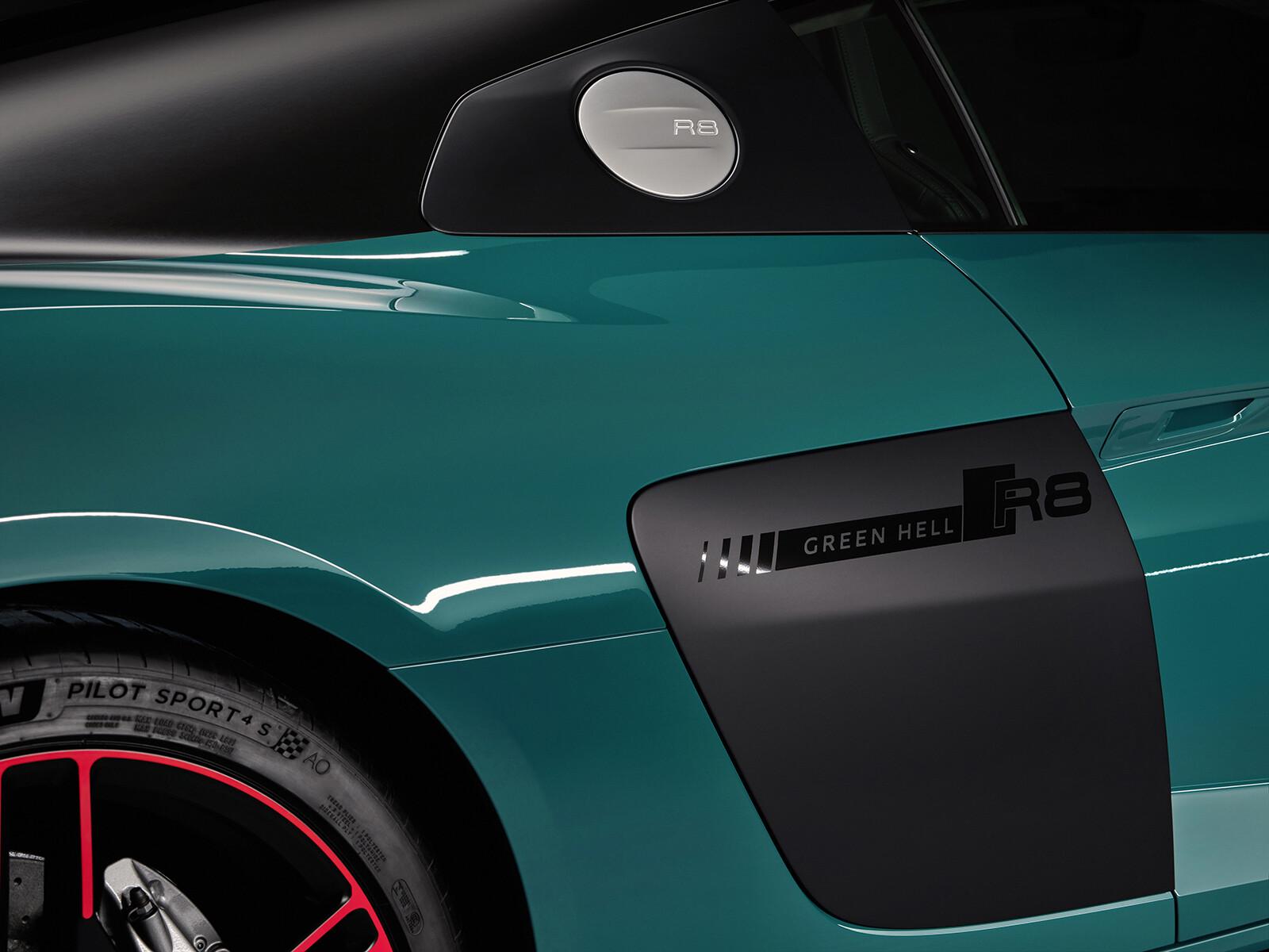 Foto de Audi R8 Green Hell (23/25)