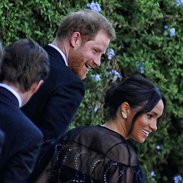 Meghan Markle y el príncipe Harry acuden a la boda de Misha Nonoo, la diseñadora que los presentó